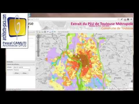 PLU Toulouse, le plan de zonage et utilisation