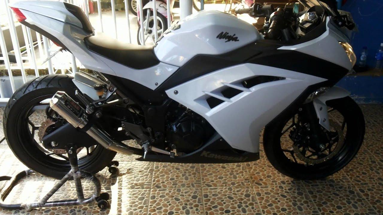 ide modif ninja 250 fi putih
