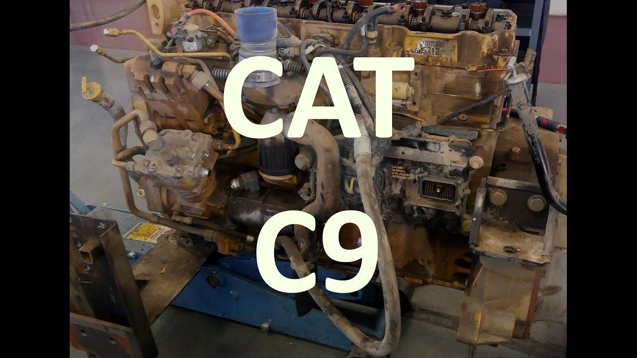 3208 Cat Engine Fuel Pump Diagram The Cat C9 Engine Facts Walk Around Sensor Locations