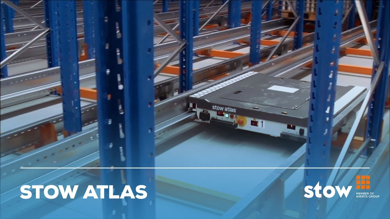 sc 1 st  YouTube & Stow Atlas pallet shuttle system at Dawtona Poland - YouTube
