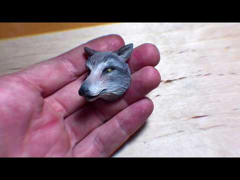 "Polymer clay tutorial ""Wolf"""