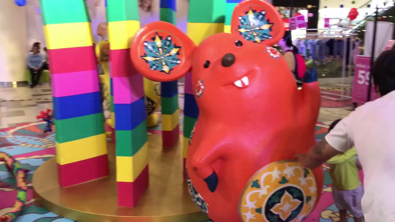 Lunar New Year Decorations at VivoCity 2020 | Festivals in ...
