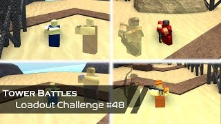 Discount Exclusive Towers | Loadout Challenge #48 | Tower Battles [ROBLOX]