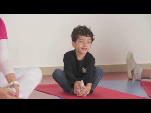 Specialised Kids Yoga at Starfish Lane Kids nursery in Doha