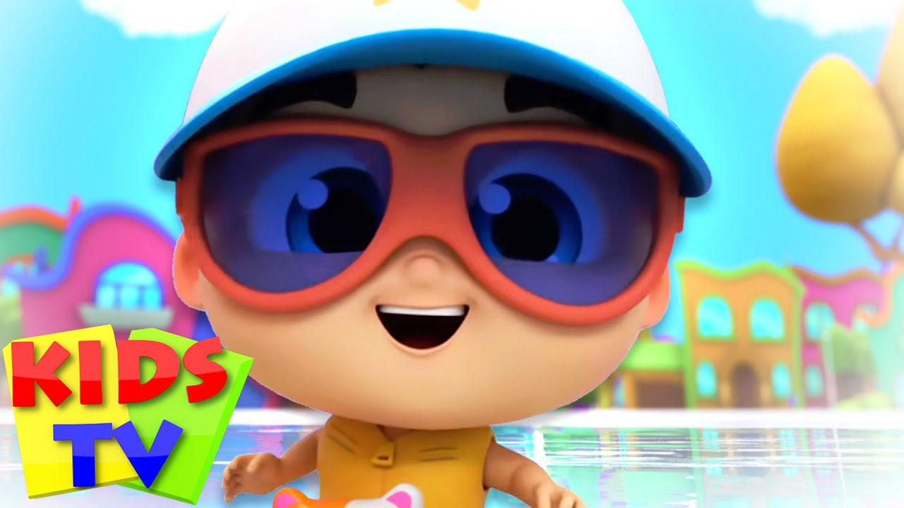 Swimming Song | Super Supremes | Kids Tv Nursery Rhymes & Baby Songs