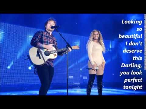 Ed Sheeran - Perfect Duet (with Beyonce) lyrics