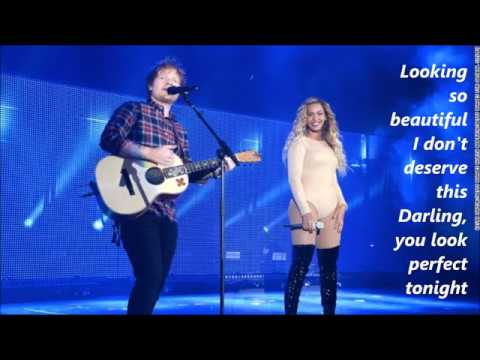 Cover Lagu Ed Sheeran - Perfect Duet (with Beyonce) lyrics STAFABAND
