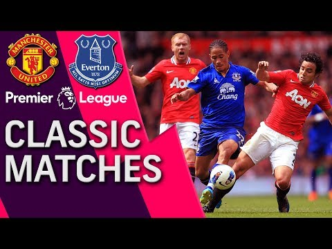 Man United V. Everton | PREMIER LEAGUE CLASSIC MATCH | 4/22/12 | NBC Sports