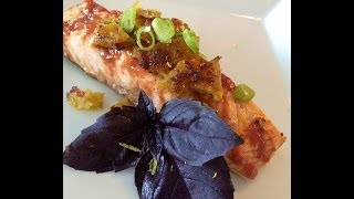 Salmon With Guava Garlic Sauce | Cuban With A Twist | Episode 91