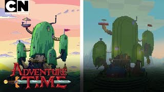 Adventure Time | Show Intro - Minecraft Style! | Cartoon Network