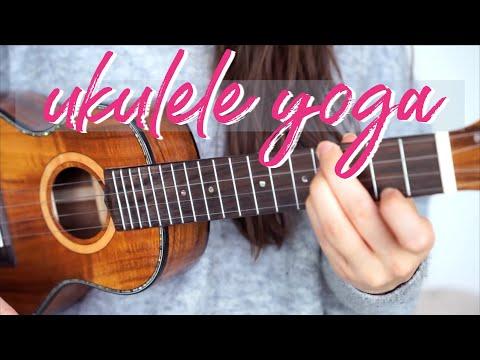 Ukulele Yoga - E Chord Workout & Stretches