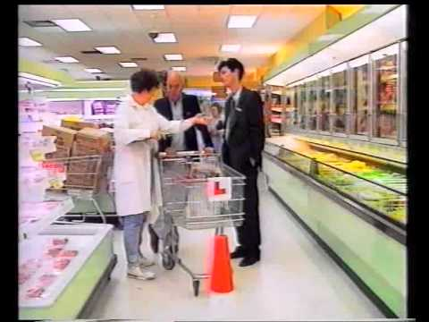 Mike Murphy Candid Camera the invisible tape & shopping trolly lessons