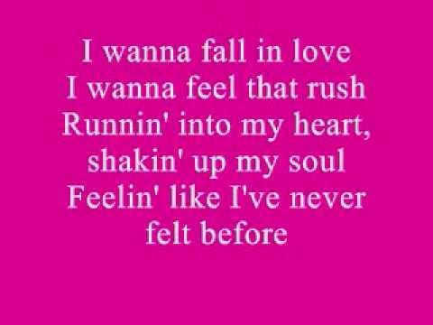 Lila Mccann I wanna Fall In Love Lyrics