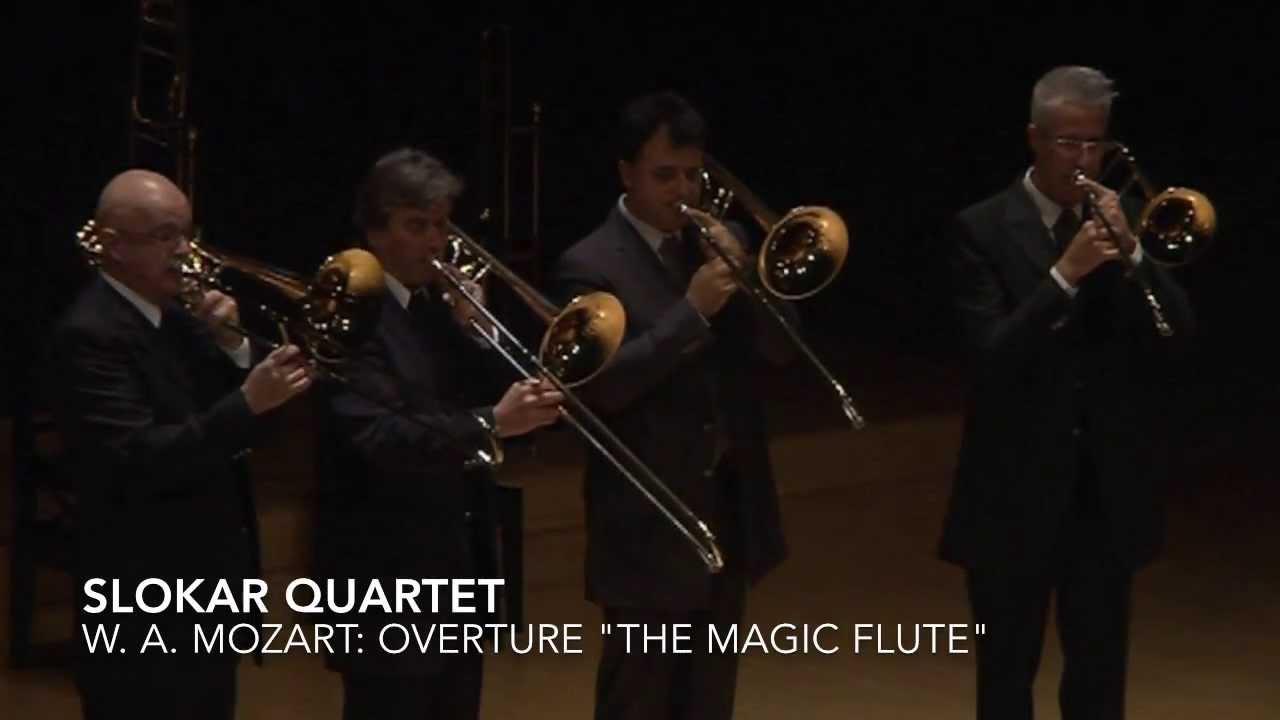 "Slokar Quartet - Live in Tokyo - Mozart: Overture ""The Magic Flute"""