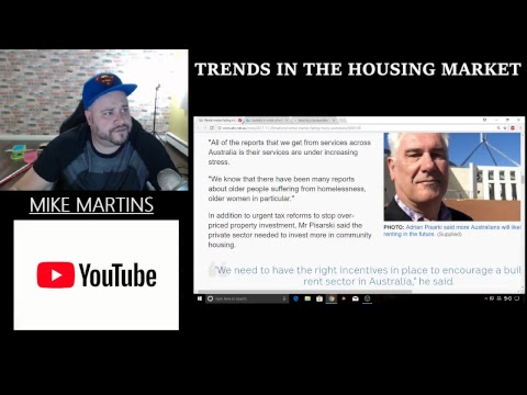 TRENDS IN THE HOUSING MARKET - NOV 30th, 2017