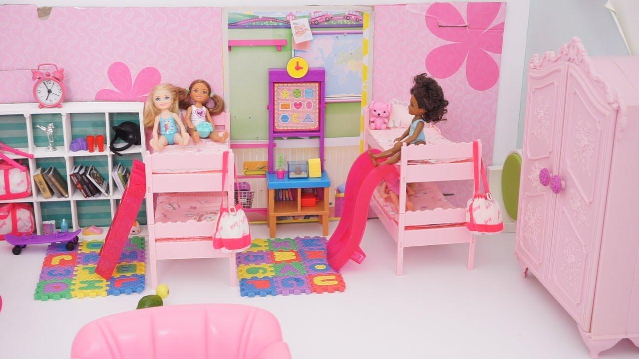 Barbie Chelsea Double Bunk Bed Bedroom Decor