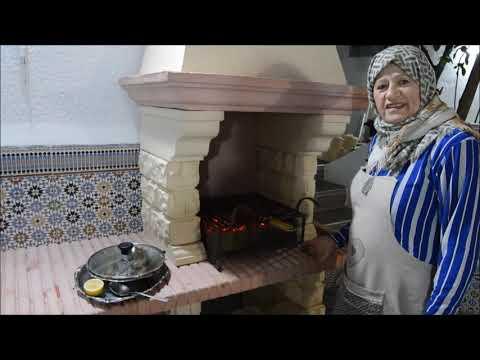 روز-أزعر-ولحم-مشوي-riz-et-barbecue-recette-du-nouvel-an