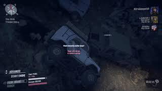Spintires: MudRunner_Mountain Climb Epic Fail.