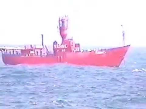 VARNE light ship in the World's Busiest Shipping Lane,the Dover Strait