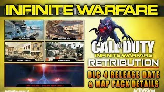 IW RETRIBUTION DLC PACK #4 Release Date & Details! WARHAWK Remake (Ghosts) & Extinction in Zombiez