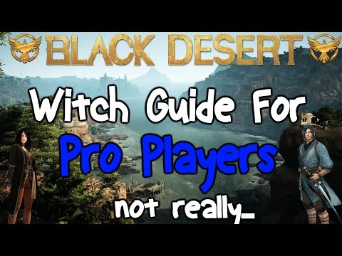 Black Desert Online: How To Play Witch with L33t skills