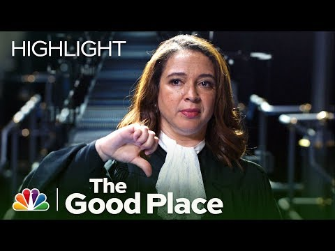 The Judge Catches Michael and Janet - The Good Place (Episode Highlight)