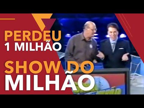 Homem perde R$ 1 Milhão no Show do Milhão