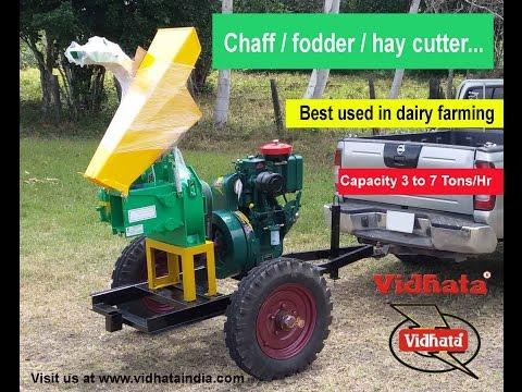 Chaff cutter machine manufacturer  India model 40