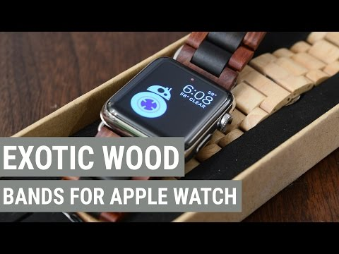 Wood Ottm Apple Watch Bands Make a Unique & Comfortable Fashion Statement
