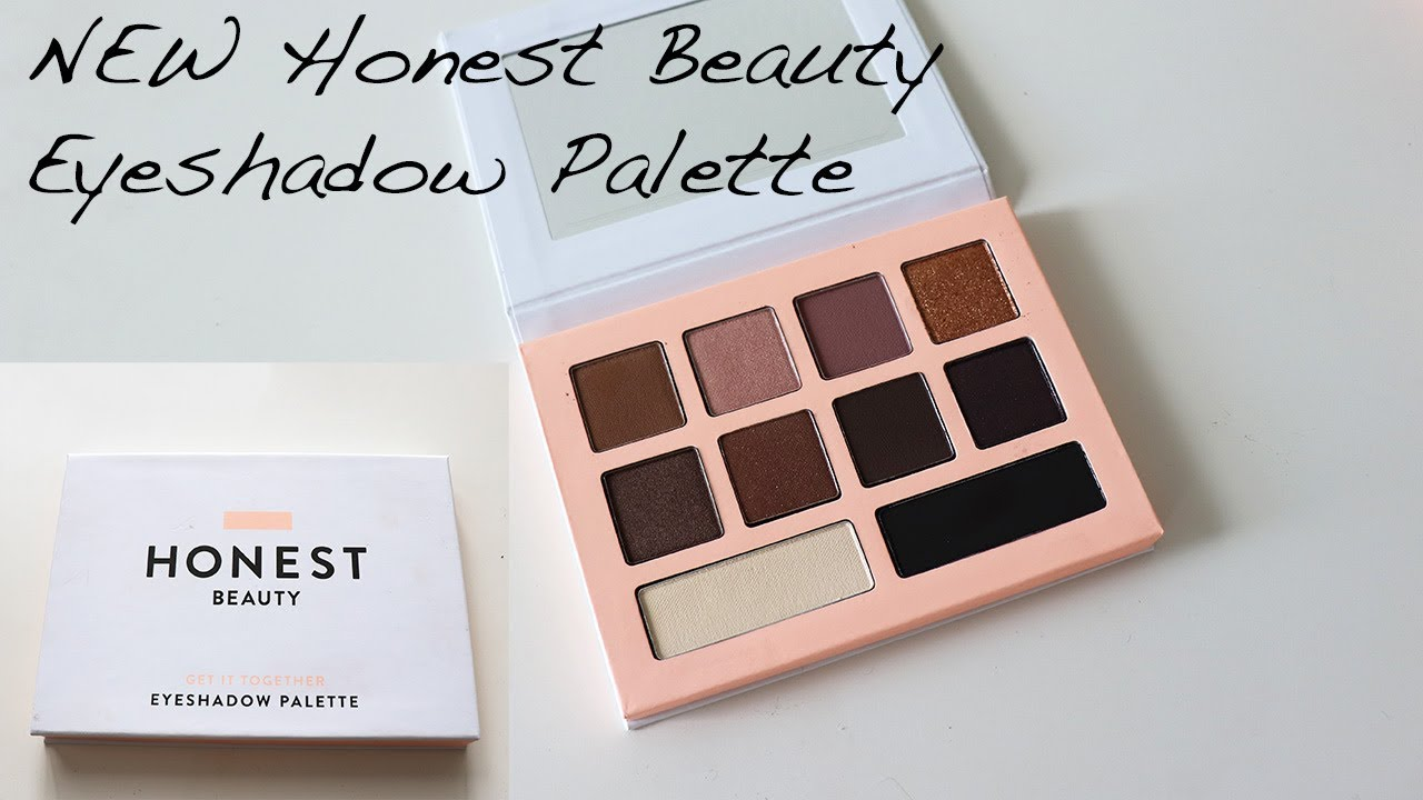 New Honest Beauty Eyeshadow Palette Review 2 Tutorials Youtube