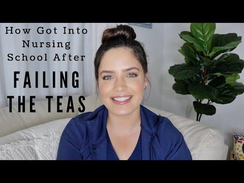 How I Got Into Nursing School After Failing the TEAS Test