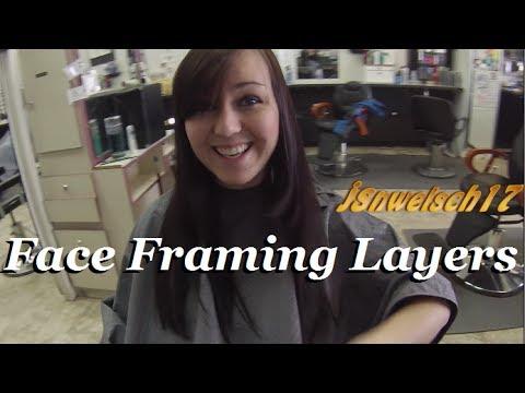 Womens Layered Haircut Long Face Framing Layers Womens