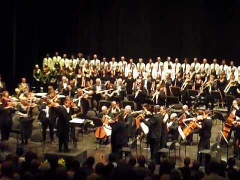 ISO - HATIKVA - Paolo Olmi - conductor  & The Israel Symphony Orchestra Rishon LeZion.MOV