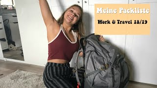 DIE PERFEKTE PACKLISTE // WORK & TRAVEL AUSTRALIEN 🌴🐘