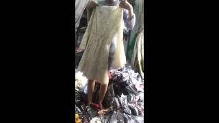 Live cho khách xem lô hàng váy đầm Quảng Châu ngày 18-4 nè [Part 1]