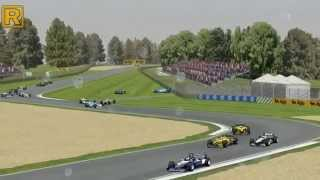 GP4 F1 2001 Crashes