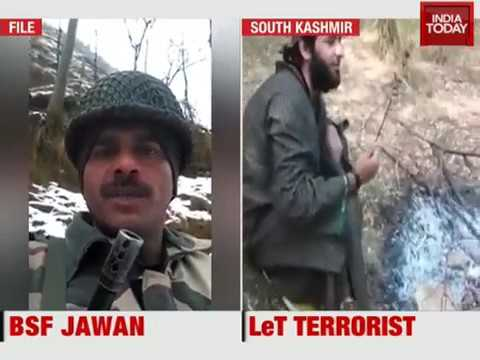 How to Militants do agree youth for Jehad, Live video from kashmir