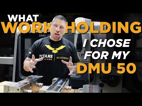 SCHUNK CNC Workholding for my DMG MORI DMU 50 - Vlog #38