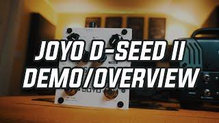 Joyo D-Seed II Dual Channel Digital Delay Demo/Overview