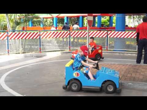 Legoland Malaysia driving school
