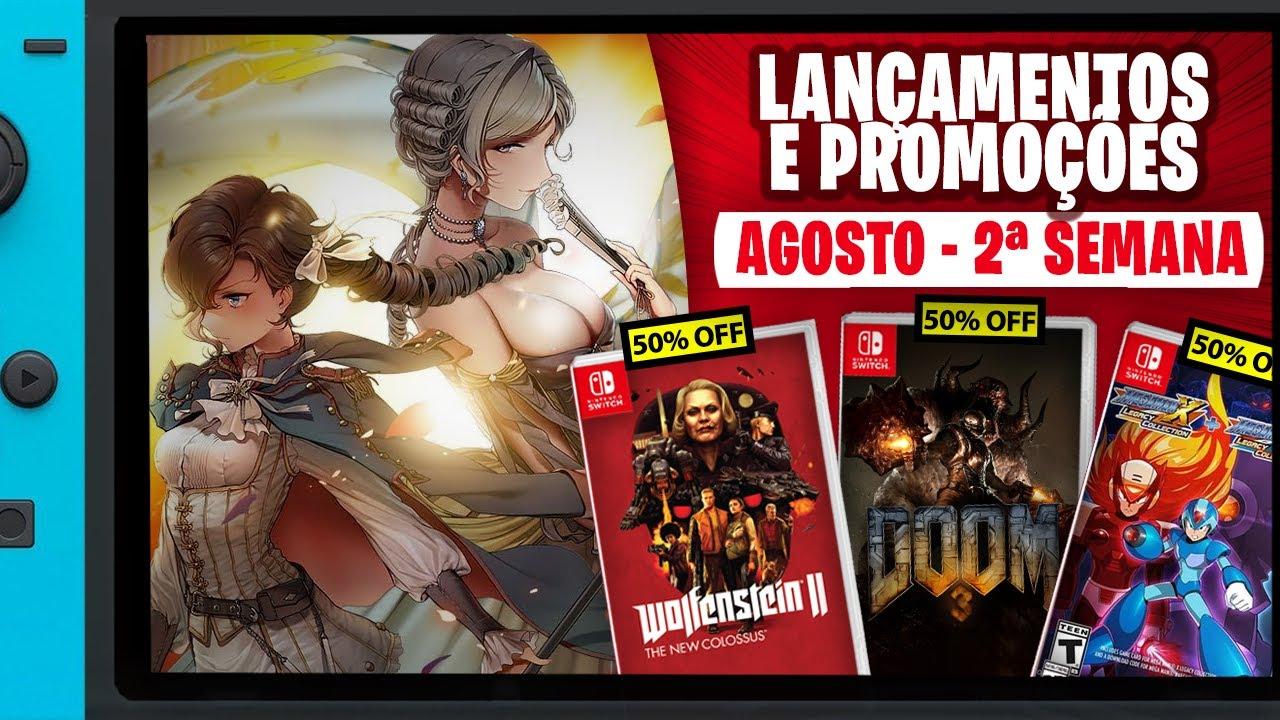 """""""Fire Emblem"""" da revolução francesa e mais Lançamentos e Promoções   2ª Semana Agosto"""