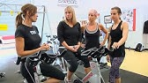 Is it safe to do Push ups on a Spin Bike? Controversial Spin moves talk with Cat Kom &amp Trainers