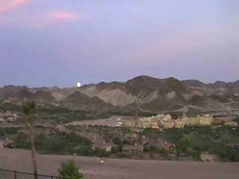 Lake Las Vegas sees a Full Moon