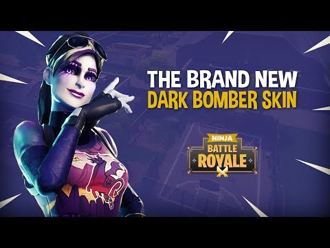 NEW Dark Bomber Skin!! - Fortnite Battle Royale Gameplay - Ninja