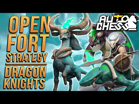 Lose Streaking Into Dragon Knights! | Auto Chess Mobile | Zath Auto Chess 21