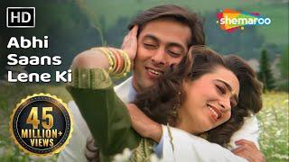Download Abhi Saans Lene Ki Fursat Nahin Hai | Jeet Songs | Salman Khan | Karisma Kapoor | 90's Romantic Song