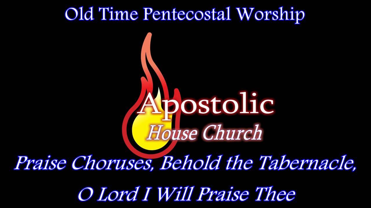 Old Time Pentecostal Singing