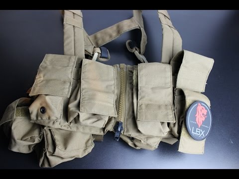 LBX 0062 Lock & Load Chest Rig Overview