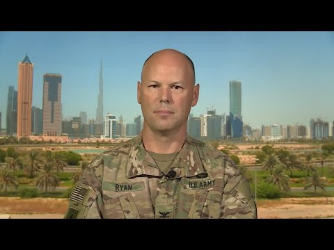 Spokesman of US-led coalition against IS group: 'A lot of IS group fighters are underground'
