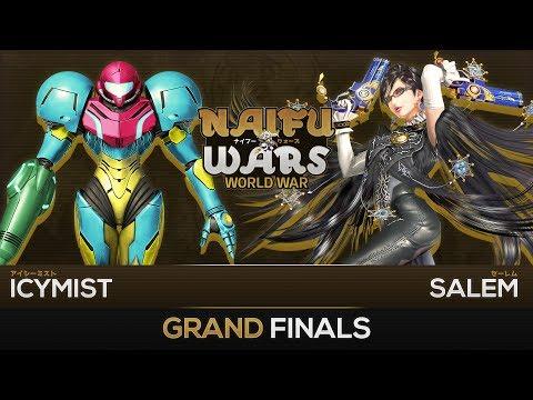 Naifu Wars: World War #2 Grand Finals - IcyMist (Samus) vs MVG Salem (Bayonetta) - Smash Wii U